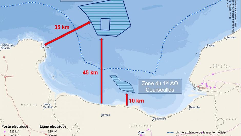 Repoussons les éoliennes à 40 km au large, hors de vue, comme tous nos voisins européens.