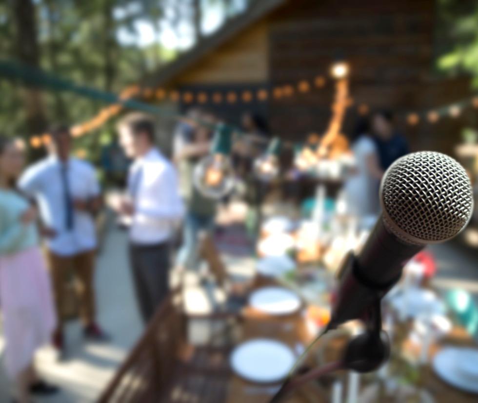 Wedding Singer on Stage | club nautico chia