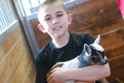 Turner and Baby Goat