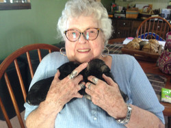Elaine Lovin on the Puppies