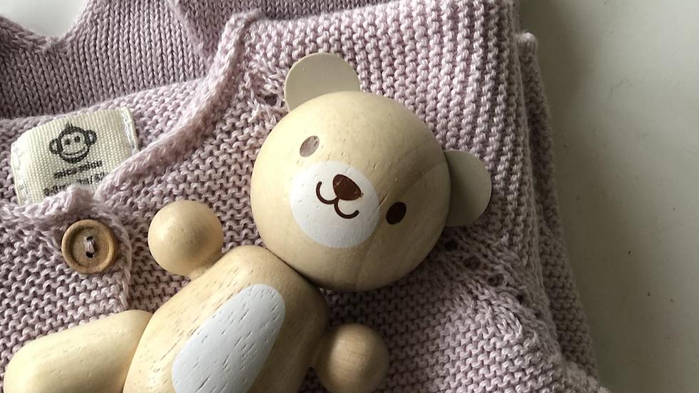 Babies kleiner Holzbär von PlanToys