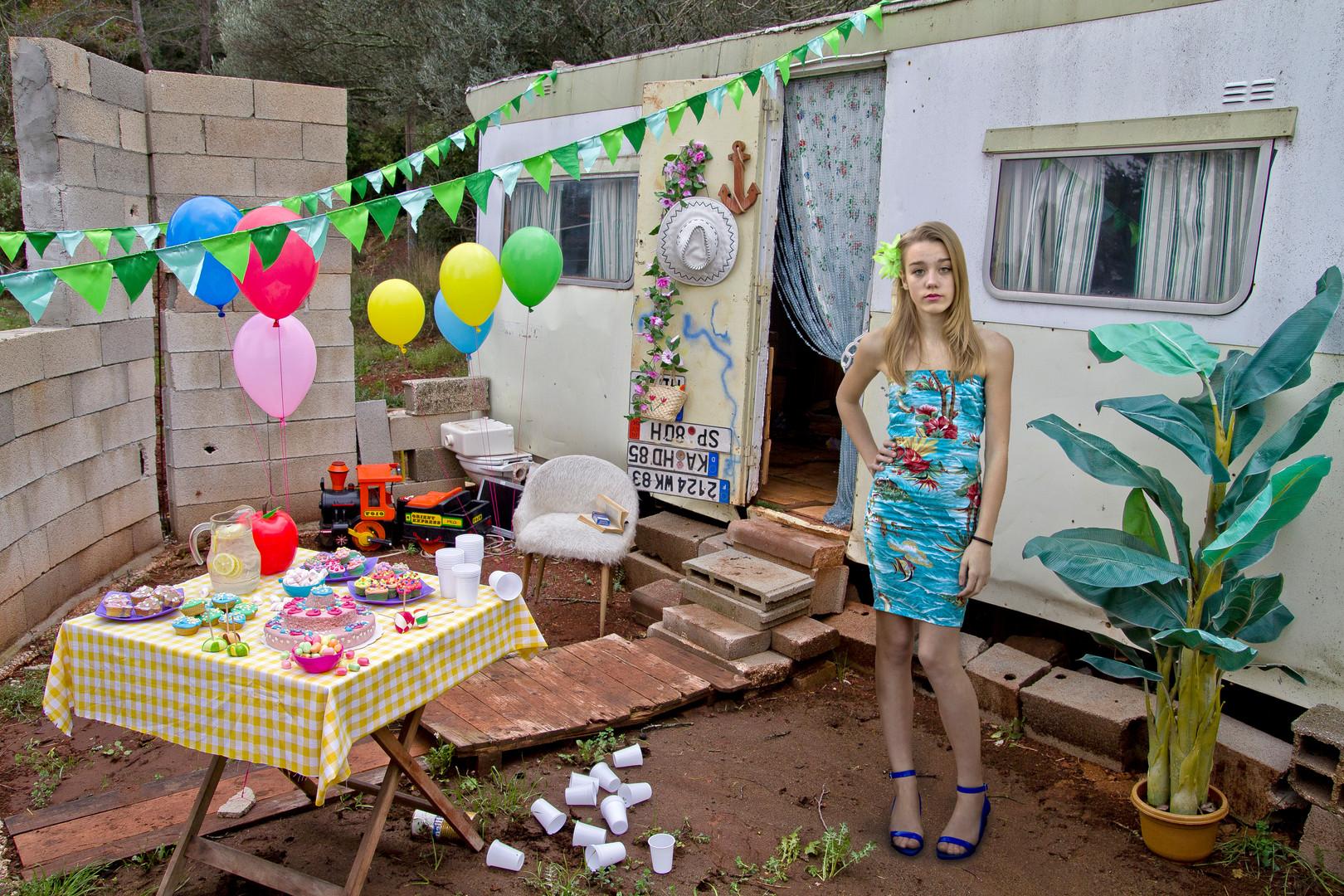 Julie, Impression numérique contrecollée sur Dibond, 108 x 72 cm, 2011