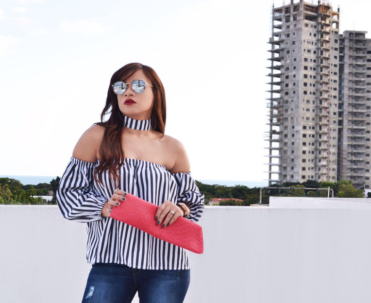 #OOTD Casual in  Stripes
