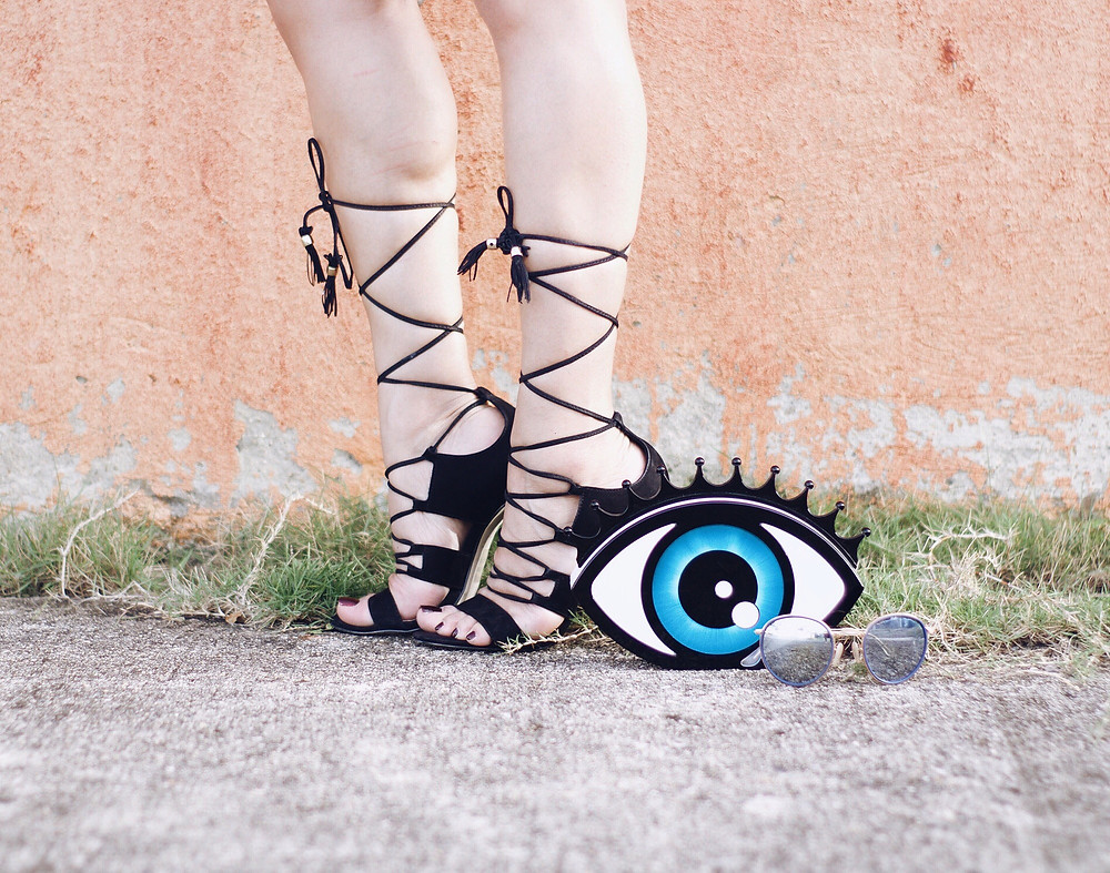 laceup sandals