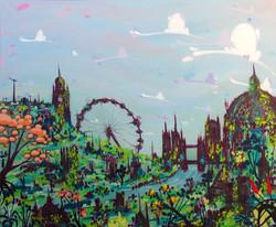 'Overgrown Cityscape'
