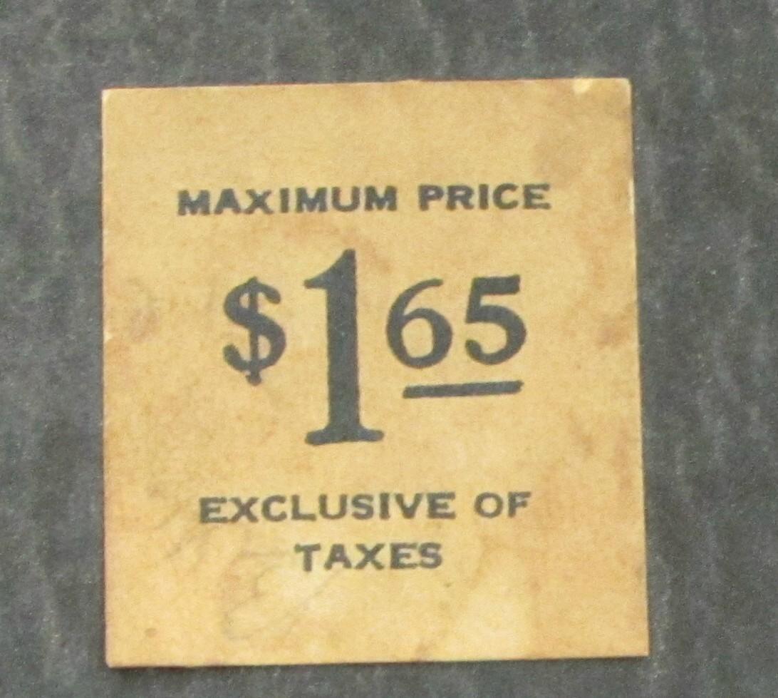 waralarm pricetag