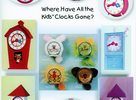 Where Have All the Kids' Clocks Gone?