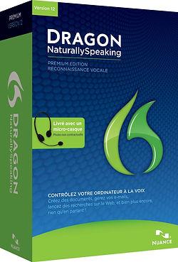 Vente reconnaissance vocale Dragon Naturally speaking à Bordeaux