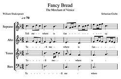 Fancy Bread Score