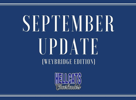 Weybridge Update for September