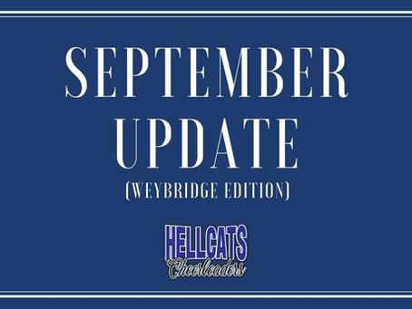 Weybridge Update for September