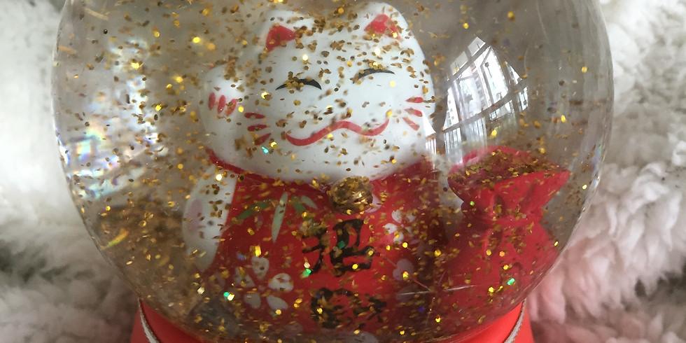 Chinese New Year Snow Globe