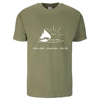 Mens FL Mens T-shirt - Olive Grey - larg