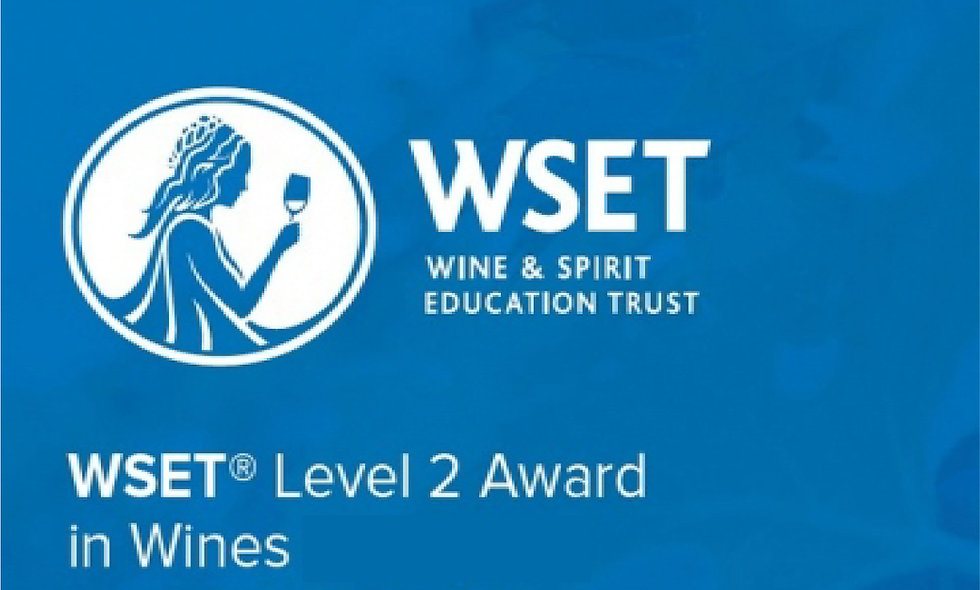 WSET level 2 - San Diego/Temecula In-person & Online Fall 2020