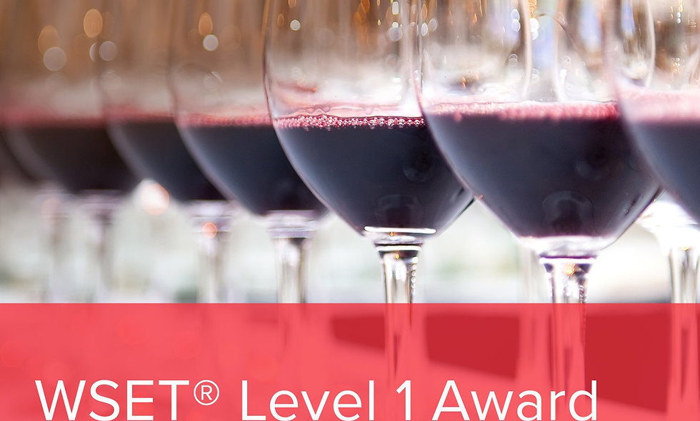 WSET Level 1 with Wine Smarties