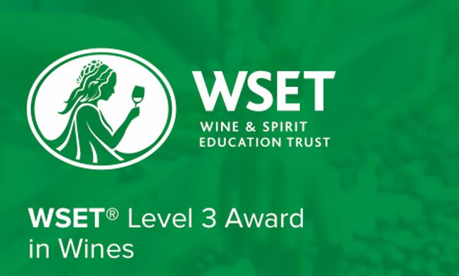 WSET Level 3 San Diego/Temecula - Spring 2020