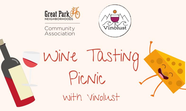 Vinolust Wine Tasting Picnic - October 8