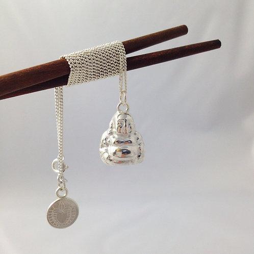 Buddha in Sterling Silver