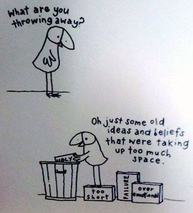 Decluttering your headspace