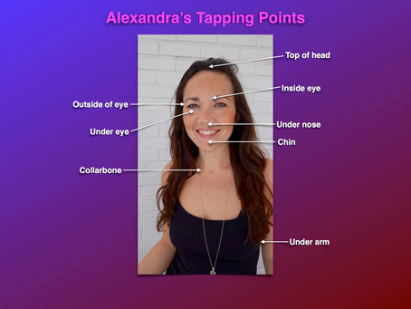 Tapping points.