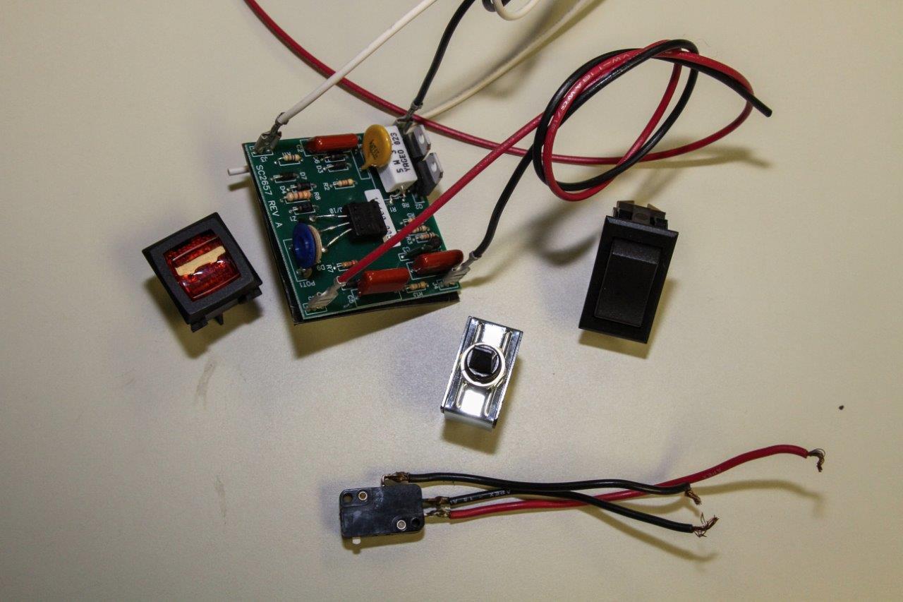 Switches, Sensors