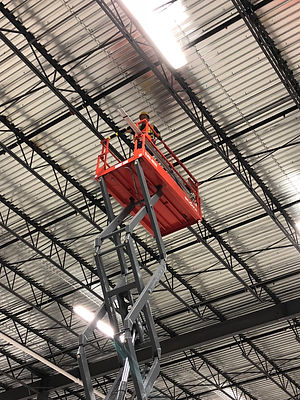 Industrial Conduit and outlet installation