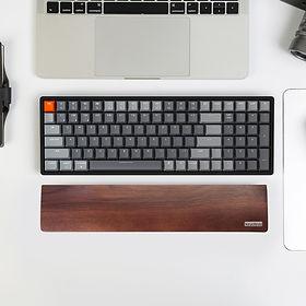 Wooden-Palm-rest-for-Keychron-K4-version