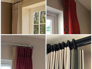 Adding Trim/Contrast fabric to Curtains………Or not?!