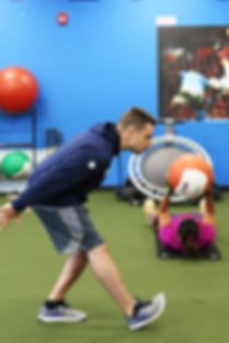 Boot camps and small group training