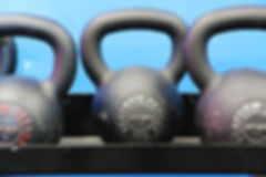 Personal training kettlebells