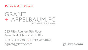 Grant Appelbaum logo and biz card
