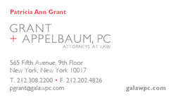 Grant Appelbaum logo and biz card