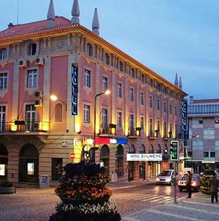 Imagem predio do Hotel Solneve na Covilhã
