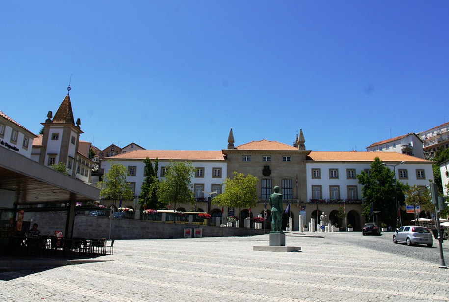 Praça do município da Covilhã