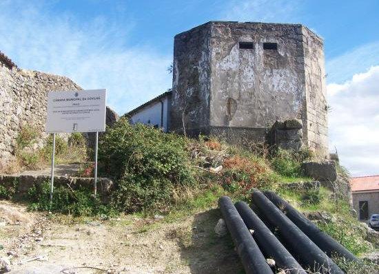 Porta do Castelo (zona das antigas muralhas da Covilhã)