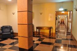 Corredores Solneve em um dos andares