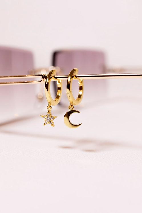 Moon & Star Crystral