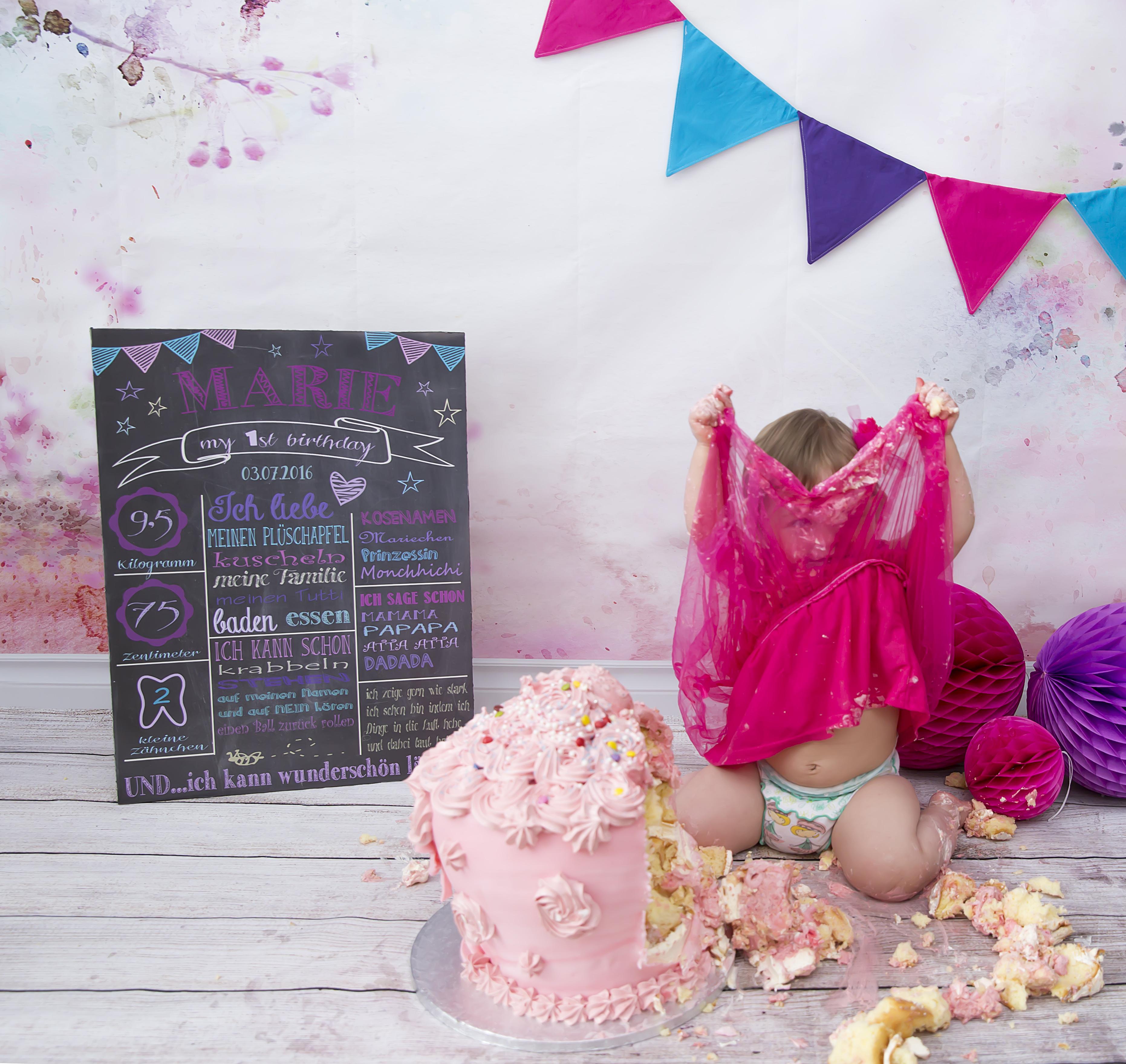 Cake Smash Fotos