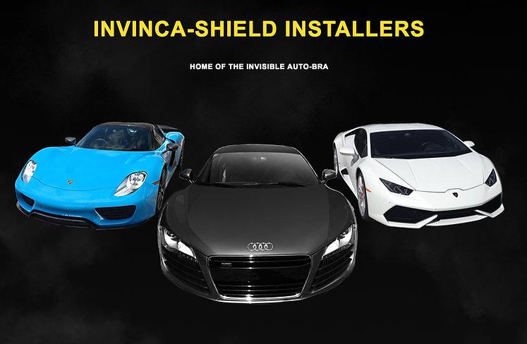 three sports cars