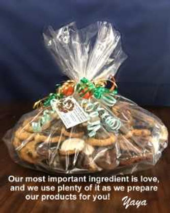 bag of baked goods