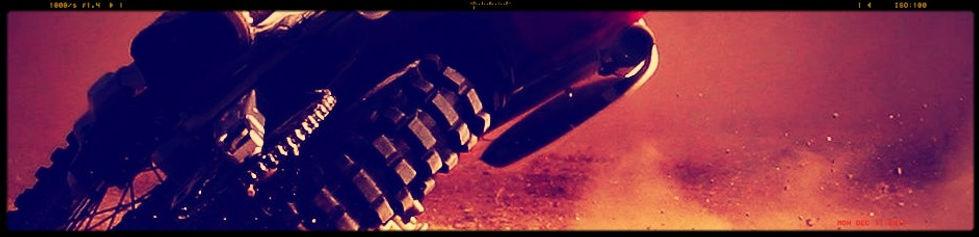 dirt bike motorcycle drifting