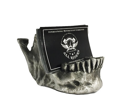Human Jaw Business Card Holder