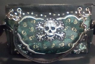 motorcycle inspired purse