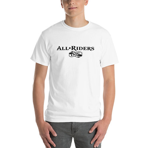 All Riders IMC Words in Black T-Shirt