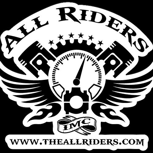 Classic Logo Black on White Background