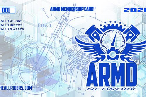 2020 ARMD Membership Card