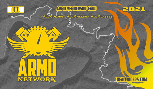 2021 ARMD Membership Card Kit (Women's)