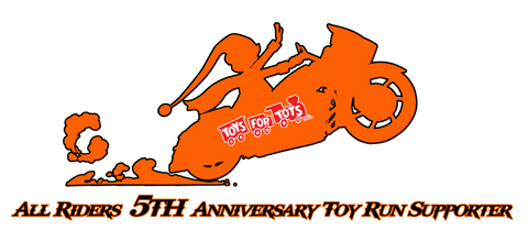5th anniversary toy run logo