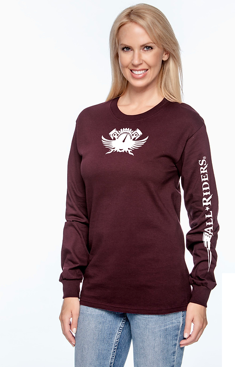 Unisex Long-Sleeve All Riders Faithful (Women's)
