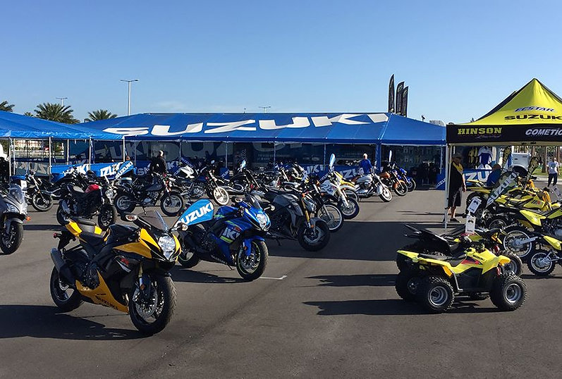suzuki motorcycles at bike week